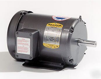 Baldor Electric Motor 2 Hp 2 Speed 1725 850 Rpm 184t 3