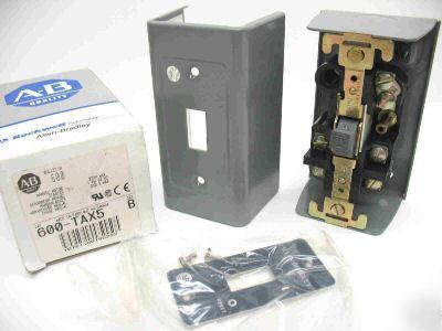 Allen Bradley 600 Tax5 Manual Motor Starter Nema 1