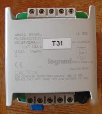 Legrand 46922 rectified power supplies