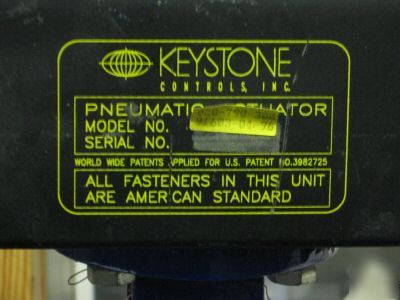 keystone air actuated