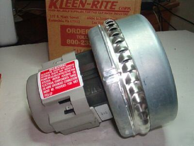 New kleen rite ametek industrial blower vacuum motor Ametek specialty motors