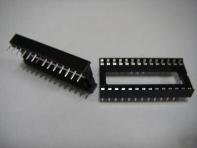 PKG17, 28 pin dip ic panel socket adaptor adapter