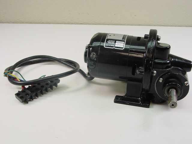 Bodine Electric Nsh 12rg E10610186 Gear Motor 1 50hp
