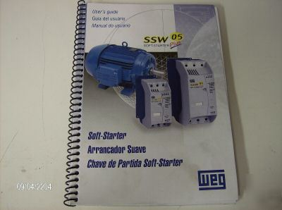 Weg soft start motor starter 220-460 volts 3-30 amps