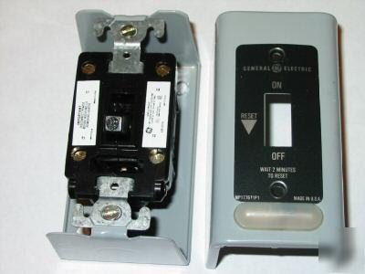 New ge manual motor starters cat cr101h11 for Ge manual motor starter