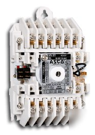 asco 917 lighting contactor  6 pole  mechanically held