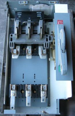 Allen Bradley 200a Fused Disconnect Switch Mcc Bucket